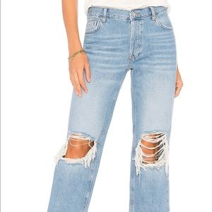 Free People Maggie Straight Leg Jean